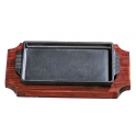 Rectangular Shaped Japanese Styled Sizzling Hot Plate Platter