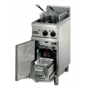 Lincat Opus 800  OE8105/F Free Standing Twin Tank Electric Fryer with Filteration System