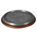 Round Shaped Granite Stone Platter (203 Series)
