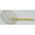 Hand Knitted Heavy Duty Steel Skimmer - Large Holes