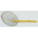 Hand Knitted Heavy Duty Steel Strainer - Small Holes 手织耐用钢笊篱 - 小孔