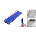 Blue Fold Away Burner Tip Cleaner