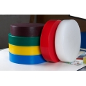 45cm x 5cm Heavy Duty Round Plastic Chopping Board