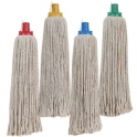 Colour Coded Mop Complete with Aluminium Handle
