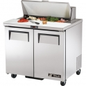 True TSSU-36-8 Sandwich/Salads Preparation Unit.