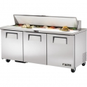True TSSU-72-18 Sandwich/Salads Preparation Unit.