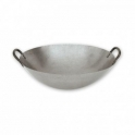 "18"" Round Bottom 2 Handle Carbon Steel Wok 18寸雙手柄碳鋼圓底鑊"