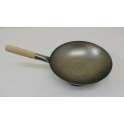 "12"" Flat Bottom Carbon Steel Wok"