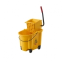 Heavy Duty Side Press Kentucky Mop Bucket 33 Litres