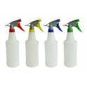 Colour Coded Chemical Resistant Trigger Spray Bottle  750ml