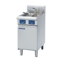 450mm Vee Ray Twin Tank Electric Fryer with Digital Display and Electronic Controls