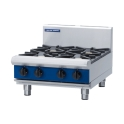 600mm Bench Model 2 Burner Gas Cooktop with 300mm Griddle Plate
