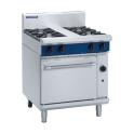 750mm 2 Burner Gas Range Static Oven with 300mm Griddle Plate