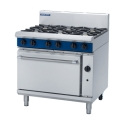 900mm 6 Burner Gas Range Static Oven