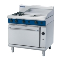 900mm 2 Burner Gas Range Static Oven with 600mm Griddle Plate