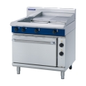 900mm 2 Element Electric Range Static Ovenwith 600mm Griddle Plate