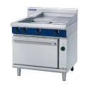 900mm 2 Element Electric Range Convection Ovenwith 600mm Griddle Plate