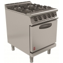 600mm 4 Burner Open Top Oven Range G3106