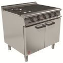 900mm 3 Hot Plate Open Top Oven Range E3101 3HP