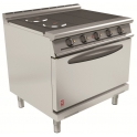 900mm 4 Hot Plate Open Top Oven Range E3101 4HP