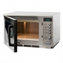 Sharp 1500W Heavy Duty Stainless Steel Commercial Microwave Preset R22AT