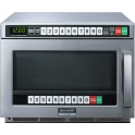 Sharp 1900W Extra Heavy Duty Stainless Steel Commercial Microwave Manual R23AM