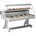 Frilixa CEL100CURVE Mobile Serve Over Counter Unit