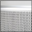 99cm Aluminium Insect Chain Link Blinds / Fly Screen