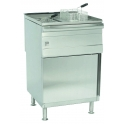 PARRY PDGF FREE STANDING TWIN TANK NATURAL GAS FRYER