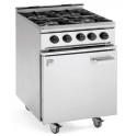Parry 600Series P4BO Natural Gas 4 Burner Range Cooker
