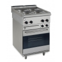 Parry 600Series PEO1871 Electric Oven With 4 Ring Electric Hob