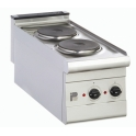 Parry 600Series P2H Electric 2 Ring Hob Unit