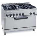 Parry 700Series 630380 Six Burners Gas Oven Range