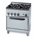 Parry 700Series 630090 Four Burners Gas Oven Range