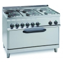 Parry 700Series 660300 Six Ring Range With Electric Oven