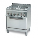 Parry 700Series 660110 Four Ring Range With Electric Oven