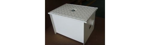 Epoxy Coated Steel Grease Traps